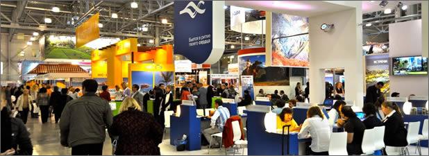 Feria internacional de turismo MITT en Moscú
